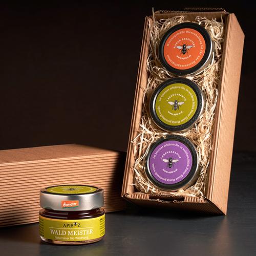 Geschenkbox Honig-Variationen