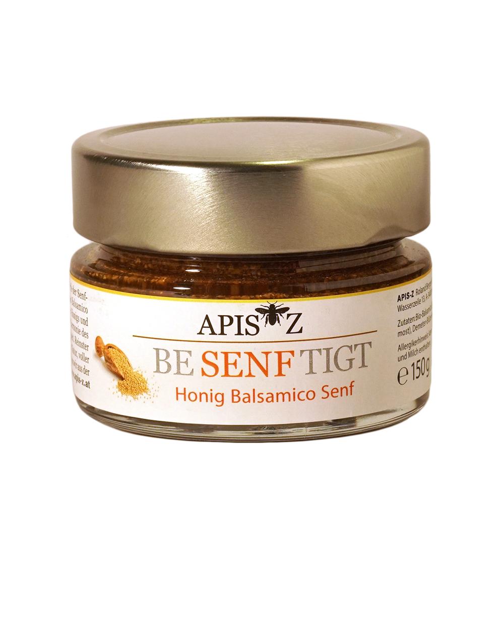 Be SENF tigt - Honig Balsamico Senf