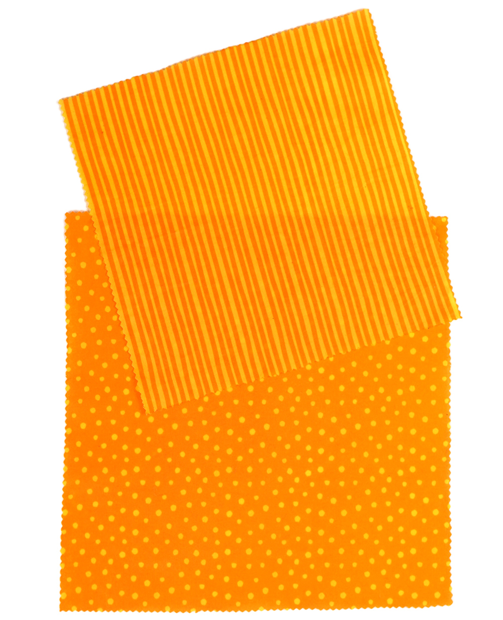 Stoffmuster orange