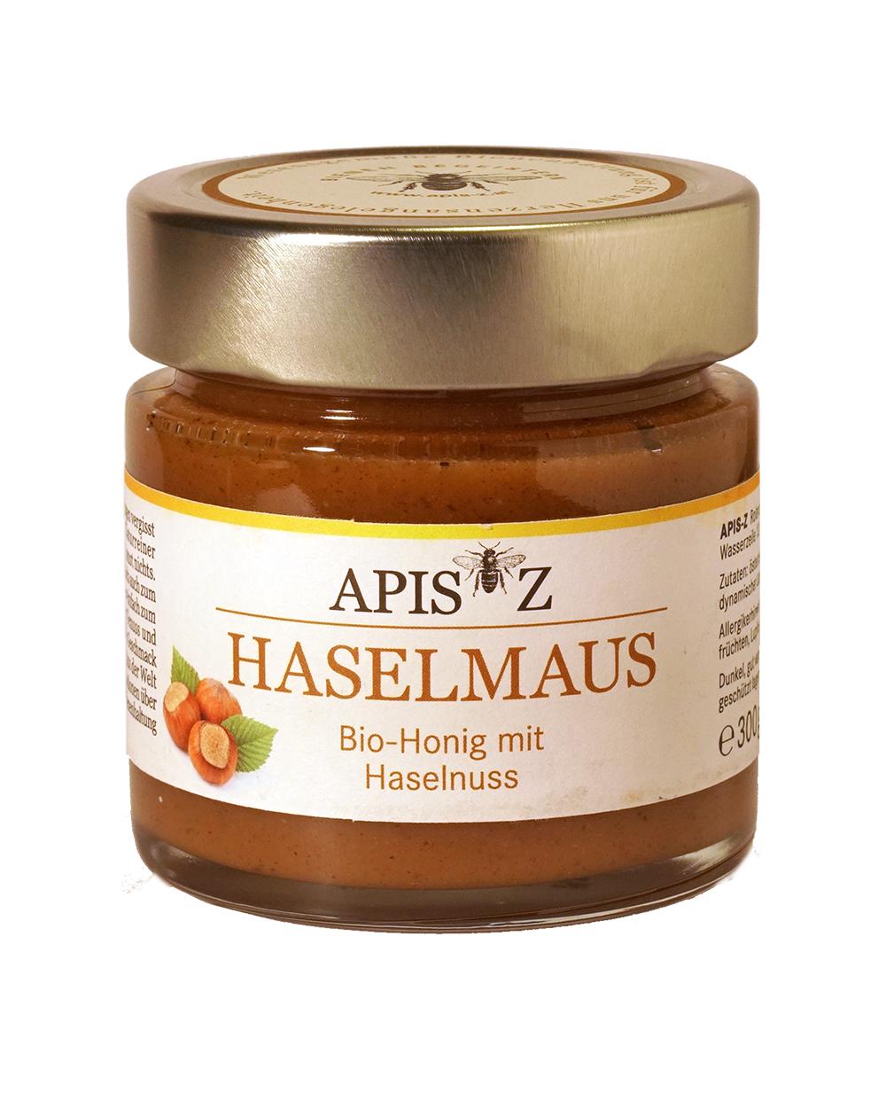 HASELMAUS Bio-Honig mit Haselnuss
