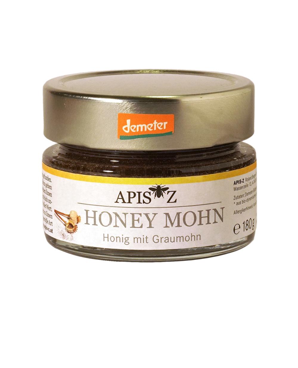 HONEY MOHN - Bio-Honig mit Graumohn