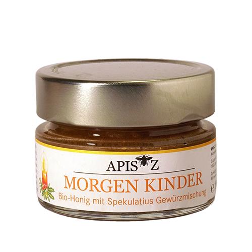 MORGEN KINDER, Bio-Honig mit Spekulatiusgewuerzmischung